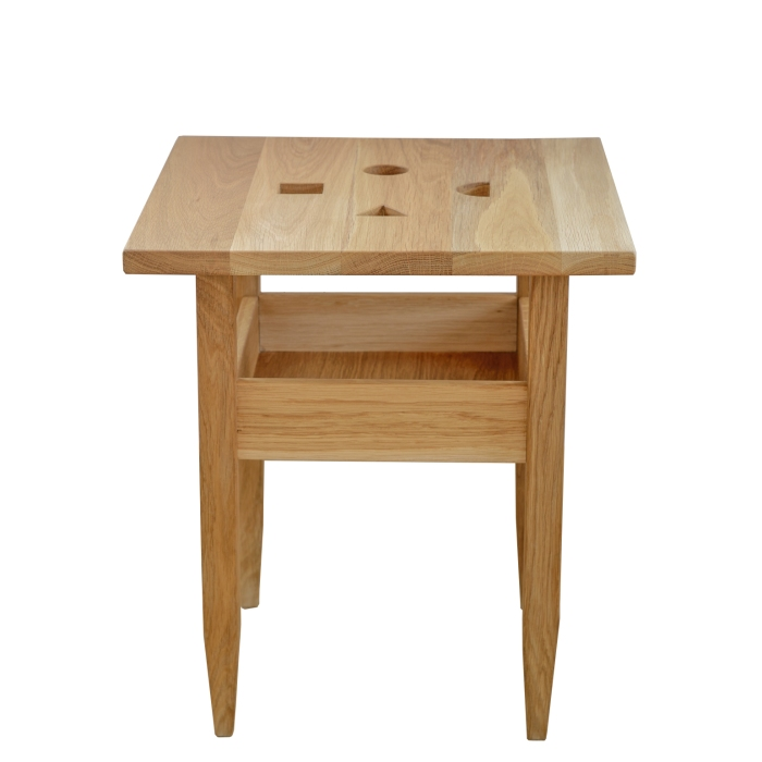 Wood&Paper taboret DUO